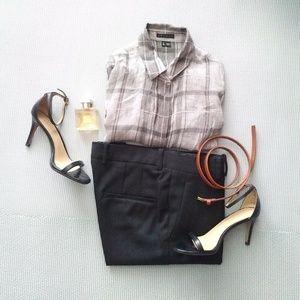 Zara Woman Trousers Black XS